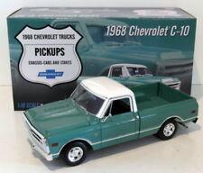 Modellini statici di auto, furgoni e camion verde per Chevrolet Scala 1:18