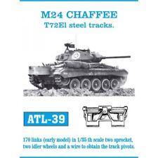 FRIULMODEL ATL-29 - M24 CHAFFEE - CINGOLI TRACK - 1/35 METAL