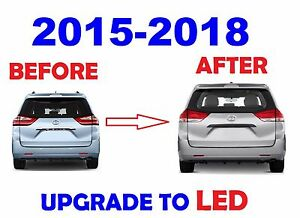 2015 2016 2017 2018 TOYOTA SIENNA LED TAILLIGHTS LAMPS OE STYLE - 4PCS SET