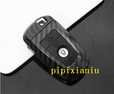 Carbon Fiber Car Remote Control Key Bag Shell Case protect For Ford mustang 2018
