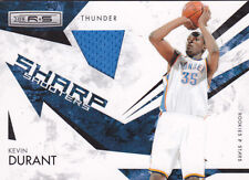 2009-10 Rookies & Stars Sharp Shooters Materials #6 Kevin Durant Jersey