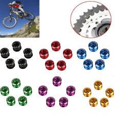 5Pcs Chainwheel Bolts Bicycle Crankset Screw Single Chainring Bolts
