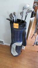 (HS148) Mens Right hand golf clubs Northwestern Turf Power clubs Putter bag