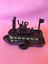 Vintage PLAYME Style Novelty Pencil Sharpener Paddle Steamer Boat