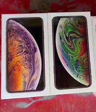 2 NEW Apple iPhone XS MAX 512GB - SPACE GREY & SILVER FACTORY WORLDWIDE UNLOCKED
