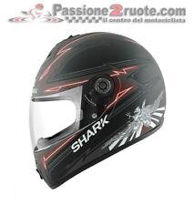 Casco integrale moto Shark S600 Griffon nero rosso taglia M