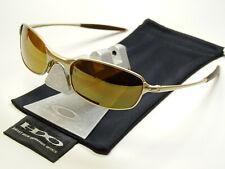 Oakley Square Wire 2.0 Platinum Gold Sonnenbrille Half Wiretap Splinter Nano Why