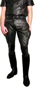 Lederhose W36 Stiefelhose Hose Leder 52 neu leather trousers pants Breeches 36