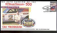 CALE YARBOROUGH 1968 DAYTONA 500 WINNER 50th ANNIV COV