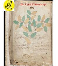 The Voynich Manuscript (Antique book, old book)