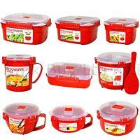 Sistema Microwave Range - Lunch Box Container Bowl Porridge Plastic Klip It