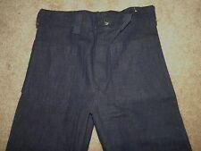 Vintage Dead Stock Seafarer Us Navy Denim Dungarees Jeans Pants Us Military31x34