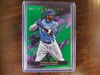 2021 Topps Inception JORGE SOLER Green Parallel #98 Royals