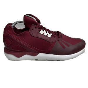 Adidas Tubular Runner Running Shoes Mens Size 11 Red Burgundy Sneakers B41274