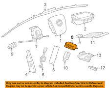 Buick GM OEM 14-17 Regal Supplemental Restraint System-Control Module 13596601