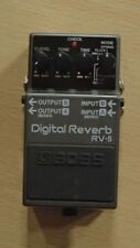 Boss rv-5 Digital Reverb Guitar Effects Pedal excellent condition
