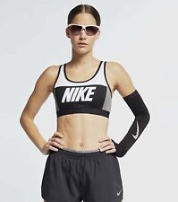 Women's Nike Sports Bra Medium Support AQ0142-100 Size Medium