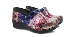 Dansko XP 2.0 Metallic Tie Dye Patent Clog Women's US sizes 36-42/6-12 NEW!!!
