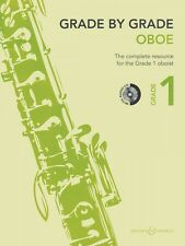 Grade by Grade Oboe Grade 1 With Cds of Performances and Accompaniment 048022732