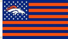 New Denver Broncos Nfl Official 3x5 Indoor Outdoor Flag Banner Man Cave Usa Fan
