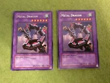 2 X METAL DRAGON LOB-E082 RARE BRAND NEW PACK FRESH TO SLEEVE