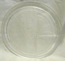 Good microwave glass plate Approx. 10½ ins diameter
