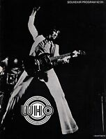 THE WHO 1971 WHO'S NEXT TOUR CONCERT PROGRAM BOOK BOOKLET / KEITH MOON / NMT