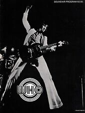 THE WHO 1971 WHO'S NEXT TOUR CONCERT PROGRAM BOOK / KEITH MOON / NM 2 MINT