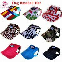 Cute Summer Sun Pet Cat Dog Accessories Dog Hat Cap Helmet for pet Cat Accessory