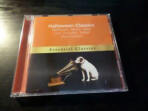 CD ALBUM - WARNER CLASSICS - HALLOWEEN CLASSICS - BEETHOVEN LISZT WEBER