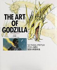 Di Art of Godzilla large book - 1991/12 Content FROM JAPAN