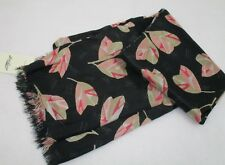 Women's Lucky Brand Leaf Print  Scarf NWT