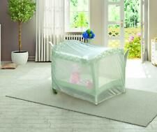 Nuby Pack N Play Universal Size Mosquito Net Tent, White   Free Us Shipping .