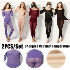Women's Ultrathin 37 Degree Constant Temperature Johns Thermal Clothes Underwear