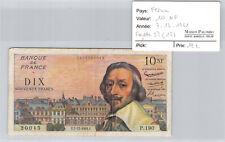 10 New Francs 7.12.1961 P.190 N° 0473920045