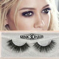 5 Pairs Real 3D Mink Natural Makeup Eye Lashes Soft Long Thick False Eyelash