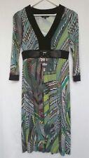 V Neck Formal Geometric Regular Size Dresses for Women