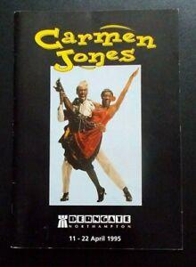 Carmen Jones programme Derngate Northampton theatre 1995 Patti Boulaye