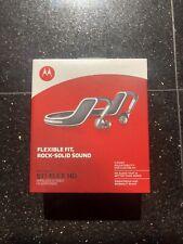 Motorola S11-Flex Hd Wireless Stereo Bluetooth Headset (Black & White) - Used