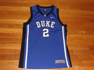 NIKE ELITE DUKE BLUE DEVILS BASKETBALL JERSEY BOYS XL 18-20 EXCELLENT CONDITION