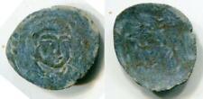 (18331)Bukharian Soghd Portrait coin, 6-7 Ct AD Rare!