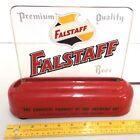 1950s FALSTAFF Bar Counter Light Sign Plastic Base Glass Panel Griesedieck Pabst