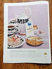 1956 Kent Cigarette Ad Playing Cards You'll enjoy KENTS When you Smoke A Lot