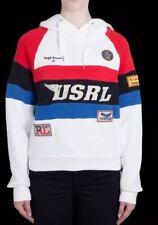 BNWT Authentic Ralph Lauren Indian RACING hoodie  Aztec Size S RRP: 370 £