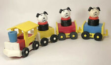 Vintage 1960's Fisher Price Little People Amusement Park Choo Choo Train