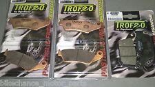 kit pastiglie anteriori + posteriori Honda Transalp 600 650 700 1997-2013 xlv