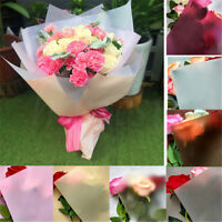 10 Sheet Flower Wrapping Paper Waterproof Florist Art Wedding Bouquet Gift Decor