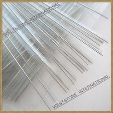 """1000pcs 4"""" CLEAR Metallic Twist Tie for Candy Lollipop Cello Bag"""