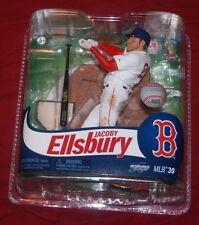 BOSTON RED SOX JACOBY ELSBURY  MLB BASEBALL SERIES 30 ACTION FIGURE