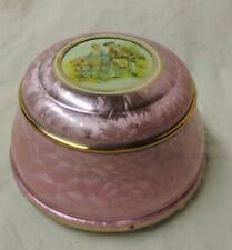Vintage Pink  Metal Powder Music Box by Cody Musical Creations